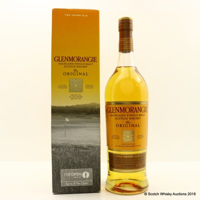 Glenmorangie 10 Year Old For The Open Muirfield 2013 1L