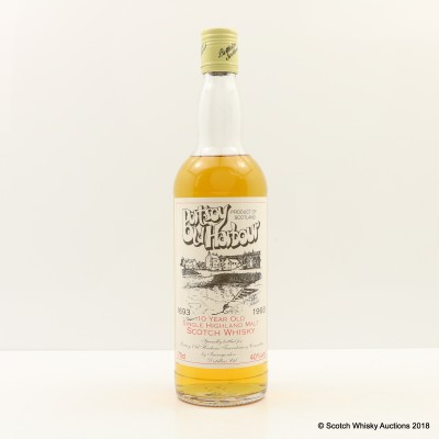 Portsoy Old Harbour 10 Year Old Highland Malt For Portsoy Old Harbour Tercentenary Committee