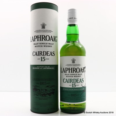 Laphroaig Cairdeas 15 Year Old 2017 Release