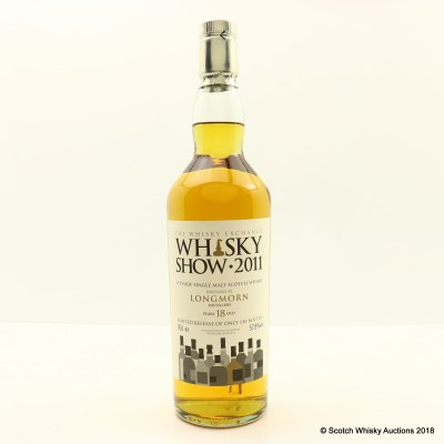 Longmorn 18 Year Old For Whisky Show 2011