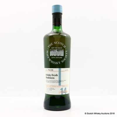 SMWS 76.136 Mortlach 2002 14 Year Old