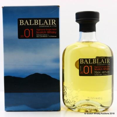 Balblair 2001 1st Release