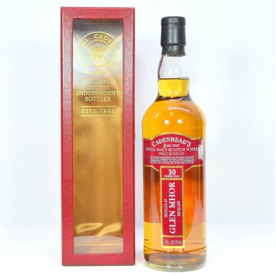 Cadenhead's Glen Mhor 30 Year Old