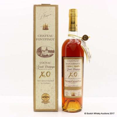 Chateau Fontpinot Premier Grand Cru X.O Cognac Frapin