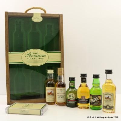The Premium Collection Miniatures 6 x 5cl