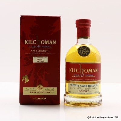 Kilchoman 2006 Private Cask Release For Private Owners