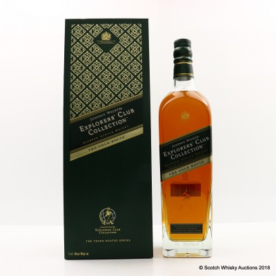 Johnnie Walker Explorer's Club Collection The Gold Route 1L