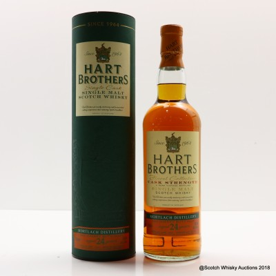 Mortlach 1991 24 Year Old Hart Brothers