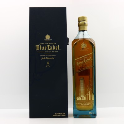 Johnnie Walker Blue Label Hong Kong Limited Edition 1L