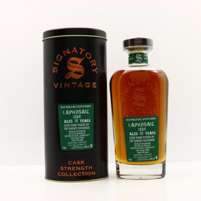 Laphroaig 1998 16 Year Old Signatory For The Whisky Exchange