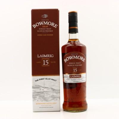 Bowmore 15 Year Old Laimrig Batch #3