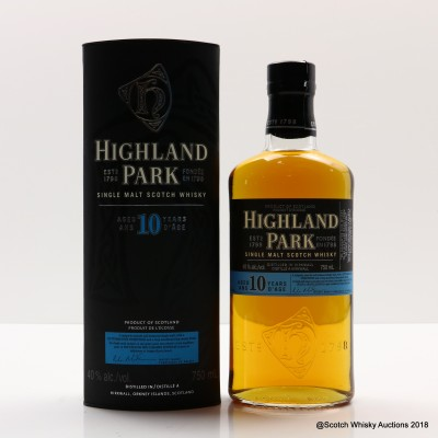 Highland Park 10 Year Old 75cl