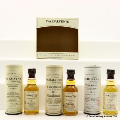 Balvenie Tasting Set Minis 3 x 5cl