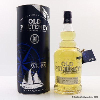 Old Pulteney Isabella Fortuna WK499 1L 2nd Release