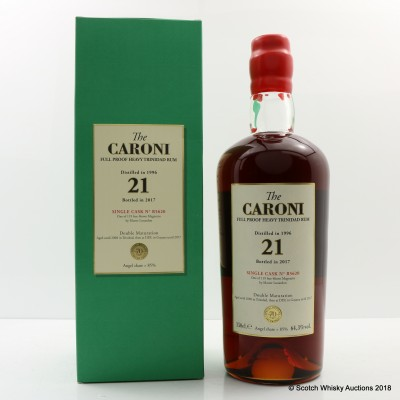 Caroni 1996 21 Year Old Single Cask #R5620 For 70th Anniversary Of Velier 1.5L