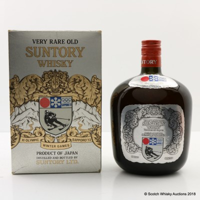 Suntory Very Rare Old For Sapporo 1972 Winter Olympics 76cl