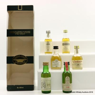 Classic Malts Miniature Set 6 X 5cl