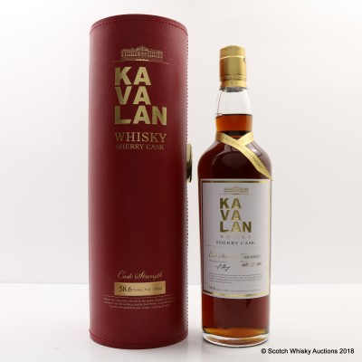 Kavalan Sherry Cask 75cl
