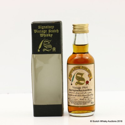 Glen Grant 1964 25 Year Old Signatory Mini 5cl