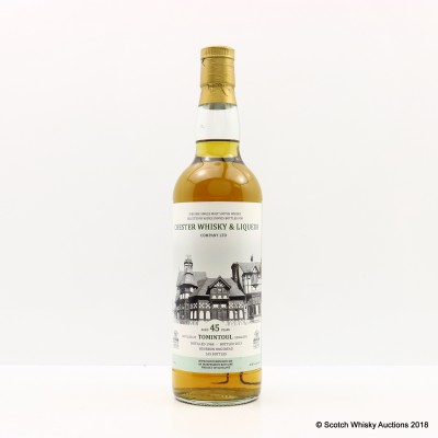 Tomintoul 1968 45 Year Old Chester Whisky & Liqueur Co
