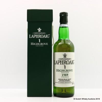 Laphroaig 1989 Highgrove