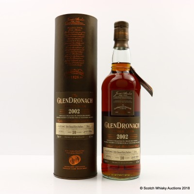 GlenDronach 2002 10 Year Old Single Cask #2011 Selected By Dram Brothers Whisky Society Luxembourg & Vinothek Massen