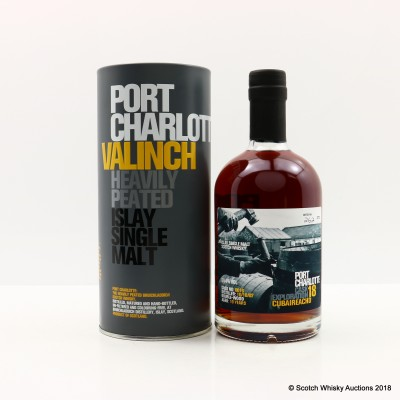 Port Charlotte Valinch 18 Cask Exploration Cubaireachd 50cl