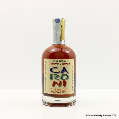 Caroni 1997 19 Year Old Single Cask #62 For 50th Anniversary Of Bar Metro 50cl