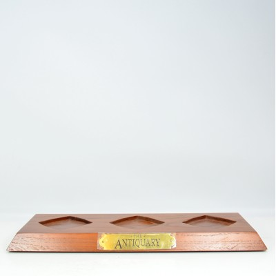 Antiquary Three Bottle Stand