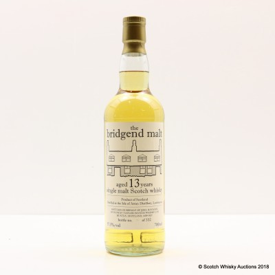 Arran 13 Year Old the Bridgend Malt