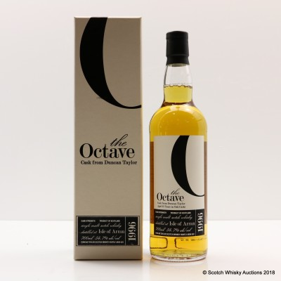 Arran 1996 15 Year Old Duncan Taylor The Octave