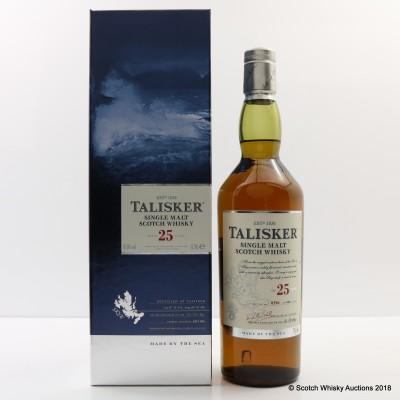 Talisker 25 Year Old 2014 Release