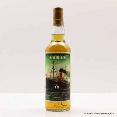 Arran 1996 18 Year Old For The Whiskyschiff Zurich 2014