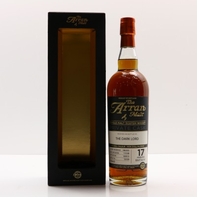 Arran 1996 17 Year Old Private Cask The Dark Lord