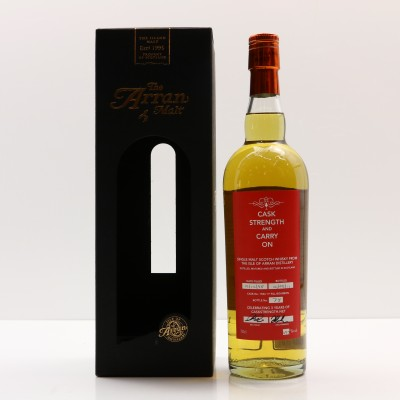 Arran 1998 Cask Strength And Carry On