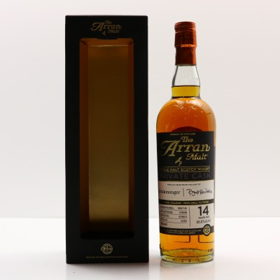 Arran 1998 14 Year Old Private Cask By Drinkmonger & Royal Mile Whiskies
