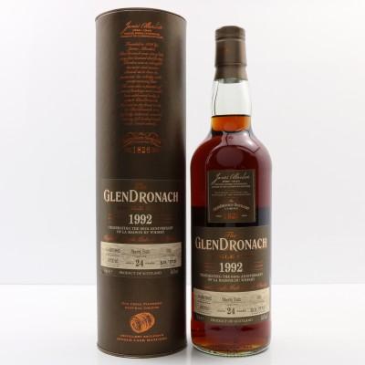 GlenDronach 1992 24 Year Old 60th Anniversary La Maison Du Whisky Single Cask #102