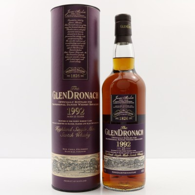 GlenDronach 1992 25 Year Old 'Mace Windu' Danish Release