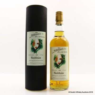 Siobhan 1989 27 Year Old Irish Whiskey Stillman's