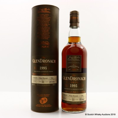 GlenDronach 1995 22 Year Old Single Cask #3054
