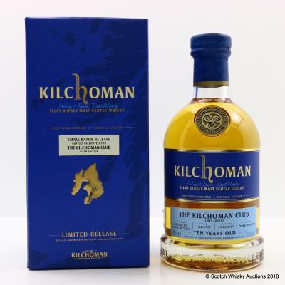 Kilchoman 2010 Small Batch Release For The Kilchoman Club 6th Edition