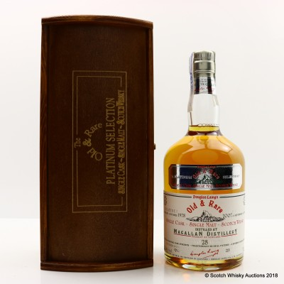 Macallan 1978 28 Year Old Old & Rare