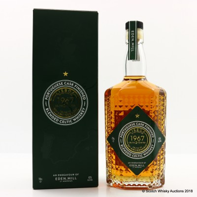 Eden Mill 50th Anniversary Of Lisbon Lions Portuguese Cask Finish