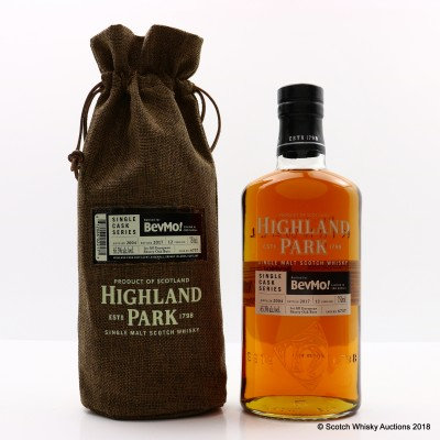 Highland Park 2004 12 Year Old Single Cask #6737 For BevMo! 75cl