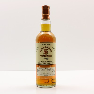 Mortlach 1991 18 Year Old Signatory