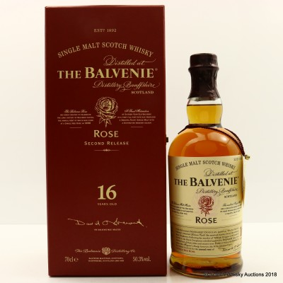 Balvenie Rose 1991 16 Year Old Second Release