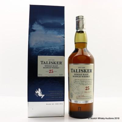 Talisker 25 Year Old 2015 Release