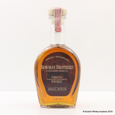 Bowman Brothers Small Batch Bourbon 75cl