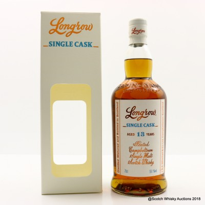Longrow 2003 13 Year Old Single Cask