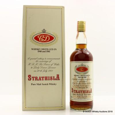 Strathisla 1948 & 1961 Royal Marriage Gordon & MacPhail 75cl